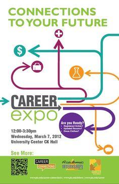 Career Fair Poster by iKaash | Graphic Design | Pinterest | Crisp ...