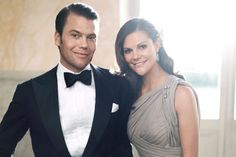 Crown Princess Victoria and Prince Daniel of Sweden (had to pin it since he wasn't wearing his glasses:)