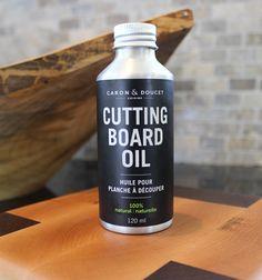 Cutting Board & Butcher Block Oil – Caron & Doucet Cuisine 2015