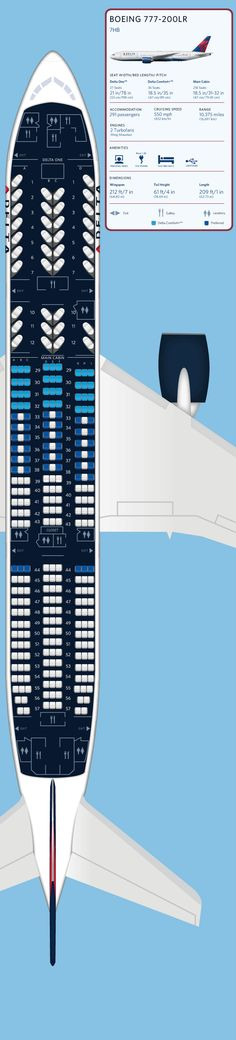 delta airlines boeing 767 200 seating map aircraft chart. Black Bedroom Furniture Sets. Home Design Ideas