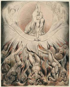 Illustration to Milton`s Paradise Lost  - William Blake