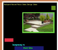 Backyard Raised Patio Ideas Design Ideas 172312 - The Best Image Search