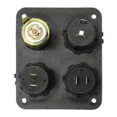 12V Counter Cigarette Lighter Socket Dual USB Charger Voltmeter For Motorcycle Car Boat Sale - Banggood.com