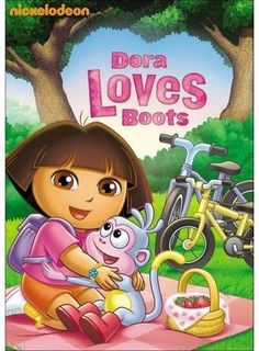 Dora the Explorer: Dora Loves Boots: Dora loves helping bootsfrom riding his first bike to finding his missing boots and more! You can help him too on their 4 fantastic friendship adventures! Dora Wallpaper, Dora Cartoon, Dora Games, Barbie Coloring Pages, Wide Calf Boots, Flat Boots, Heel Boots, Ankle Boots, Dora The Explorer