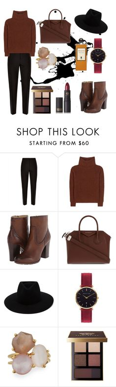 """""""cozy sweater"""" by siesta451 ❤ liked on Polyvore featuring Jaeger, Loro Piana, Frye, Givenchy, rag & bone, Abbott Lyon, Ippolita, Bobbi Brown Cosmetics and Lipstick Queen"""