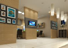 Office Interior Design | China investment corporation office interior design | 3D house, Free ...