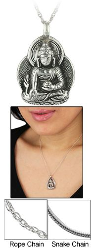 Buddah necklace-The Hunger Site $14.95