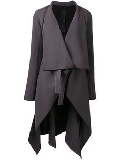 Gareth Pugh Bolero Insert Woven Coat - Patron Of The New - Farfetch.com