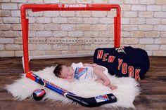 "Newborn Photography, babies, infants, portrait photography. Hockey, Rangers. ""LIKE"" us on Facebook: www.facebook.com/costaphotography1 or visit www.costa-photography.com"