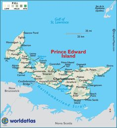 Map of Prince Edward Island 1 East Coast Travel, East Coast Road Trip, Prince Edward Island, East Coast Canada, Acadie, Voyage Canada, Provence, Canadian Travel, Atlantic Canada