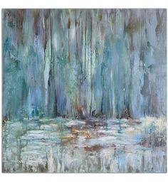Uttermost - 32240 - Blue Waterfall Art