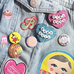 Personalised Glitter Brooch by  JadeBoylan