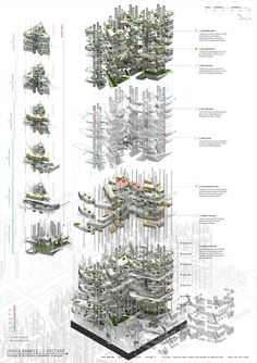 Architecture Tools, Architecture Graphics, Architecture Drawings, Concept Architecture, Landscape Architecture, Architecture Presentation Board, Concept Diagram, Eiffel, 3d Max