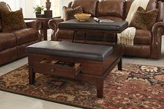 Ashley Furniture Large Ottoman Coffee Table Tables Lift Top