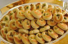 Arabic Food Recipes: Butter Cookies (Ghorayeba) Recipe