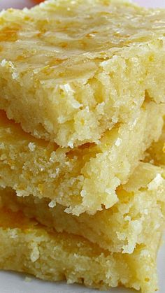 Glazed Orange Bars Recipe ~ So refreshing and yummy!