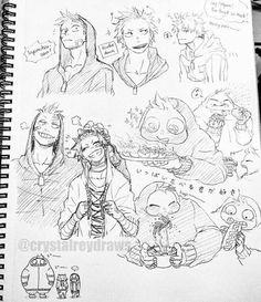 FATGUM and kirishima and a littol of tamaki :) My Hero Academia Shouto, Hero Academia Characters, Manga Characters, Totoro, Hero Manga, Character Art, Character Design, Kirishima Eijirou, Boku No Hero Academy