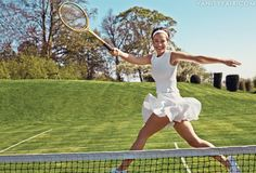 Pippa Middleton Named Vanity Fair Contributing Editor, Writes About Her (and Kate's) Tennis Obsession Pippa Middleton Photos, Kate Middleton, Norman Jean Roy, Tennis Whites, Vanity Fair Magazine, Kate And Pippa, Le Tennis, Tennis Party, Tennis Fashion