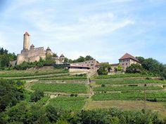 Burg Hornberg, Neckarzimmern, Baden-Württemberg, Germany