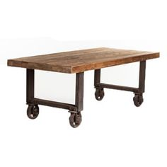 Aurelle Home Agnes Rustic Antique Reclaimed Solid Wood Dining Table