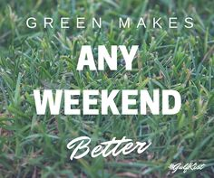 If you have #GulfKist #turf in your #yard, you're sure to have a happy #weekend. #TurfLife