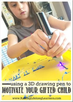 Using A Drawing Pen Can Motivate The Creativity Of Your Gifted Child