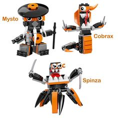 Open The Toy: Preview of LEGO Mixels Series 9