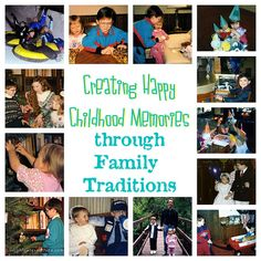 Do you create lots of family traditions for your children? Because of my upbringing, it was important to me to create special family traditions and memories for my (now-adult) children. I share what my family has done in this post for the Carnival of Natural Parenting.