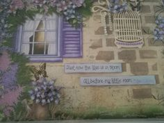Lush Lilac picture frame close up