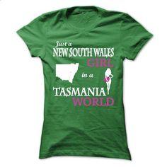 Just A New South Wales - Tasmania V^1^ - #oversized shirt #university tee. CHECK PRICE => https://www.sunfrog.com/LifeStyle/Just-A-New-South-Wales--Tasmania-V1-Ladies.html?68278