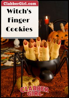 WITCH'S FINGER COOKI