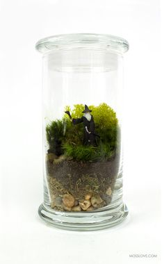 Lord of the Rings Inspired Terrarium // Miniature Gandalf