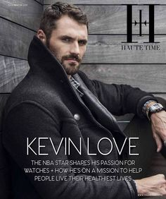 """Kevin Love on Instagram: """"Time—the ultimate luxury. Take advantage. You never have any less of it than you do right now. Thank you @hautetime for allowing me to…"""" Kevin Love, Nba Stars, You Never, Right Now, Helping People, Healthy Life, Passion, Photo And Video, Movie Posters"""