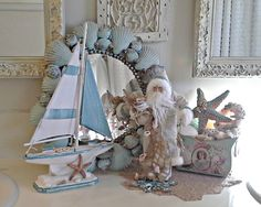 pennys vintage home coastal christmas decor beach christmas decor nautical christmas christmas ideas