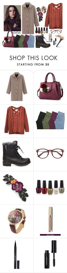 """""""nyfw"""" by rubyw00 on Polyvore featuring мода, Steve Madden, 1928, Stila, Bobbi Brown Cosmetics, NYFW, outfit, fashionset и polyvorefashion"""