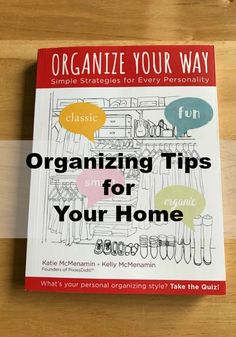 Is your home overrun by stuff? Do you look around, wishing you could organize it, but end up just spinning in circles? Use these organizing tips to help! #ad via @DGoddess