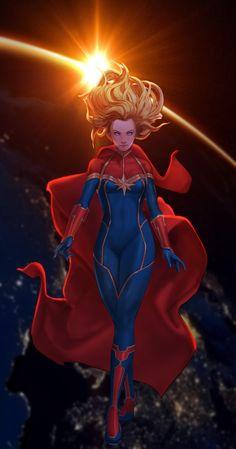 Marvel Fan Art, Marvel Comics Art, Marvel Films, Marvel Characters, Marvel Avengers, Marvel Universe, Captain Universe, Comic Books Art, Comic Art