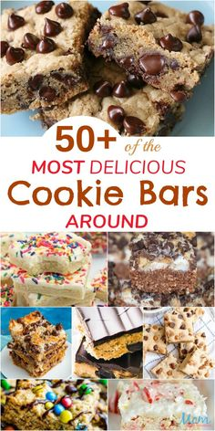 Who has time to scoop cookie dough when you can have an EASY and delicious dessert by making Cookie Bars instead? Winter Desserts, Great Desserts, Party Desserts, Delicious Desserts, Dessert Recipes, Snacks Recipes, Dessert Bars, Chocolate Chip Cheesecake Bars, Hot Chocolate Fudge