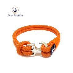Bran Marion Sailors Orange Nautical Bracelet sold by Bran Marion. Shop more products from Bran Marion on Storenvy, the home of independent small businesses all over the world. Nautical Bracelet, Nautical Jewelry, Unique Jewelry, Handmade String Bracelets, Marine Rope, Azul Real, Anklet, Jewelry Collection, Royal Blue