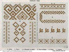 IE Husi Cross Stitch, Embroidery, Moldova, Needlepoint, Blouse, Punto De Cruz, Dots, Seed Stitch, Cross Stitches