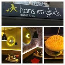 Hans im gluck Köln - Great 'healthy' burger restaurant.