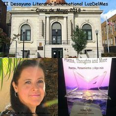 Author Maritza M Mejia, Poet and writer brings the Literary Breakfast #LuzDelMes to Willima V. Musto Cultural Center in Union City, NJ