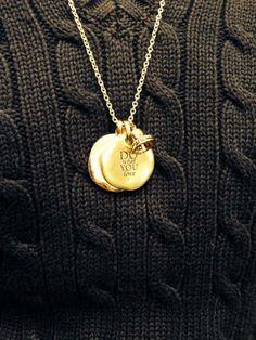 Collana con Monete e campanellina CIVITA necklace queriot little coin rose gold love silver fashion beautiful moda regalo