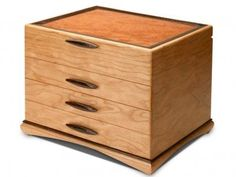 Handmade Wooden Jewelry Boxes for Women and Men - Heartwood Creations