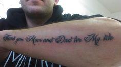 Family tattoo text
