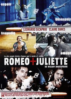 Romeo and Juliet Original 1996 French Petite Movie Poster