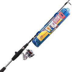 Ready Tackle Spinning Combo - 5' Length, 2 Piece Rod, 4.3: Gear Ratio, Ulta Light Action, Ambidextrous