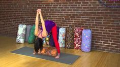 Beginner Yoga: How to Use a Bolster in Wide-Legged Forward Bend Yoga Videos For Beginners, Beginner Yoga, Poses, Legs, Workout, Learning, Youtube, Yoga For Complete Beginners, Figure Poses