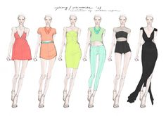 CANDACE NAPIER: FASHION DESIGNER & ILLUSTRATOR | FASHION DESIGN