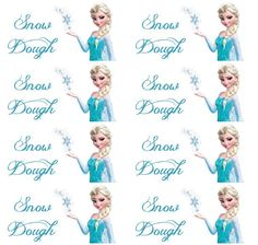 So many cute ideas for a Frozen party. We especially like the Snow Dough Labels!  Thanks for sharing Like Mom and Apple Pie.  Avery Wraparound Labels would work great for your water bottles too.